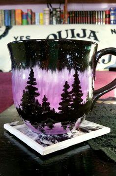 Diy pottery painting - Top DIY Painted Mugs Ideas – Diy pottery painting Painting Pottery Plates, Pottery Painting Designs, Pottery Designs, Ceramic Painting, Paint Designs, Diy Painting, Pottery Ideas, Hand Painted Mugs, Hand Painted Pottery