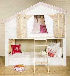 mommo design: BUNKS FOR GIRLS - kura ikea bed