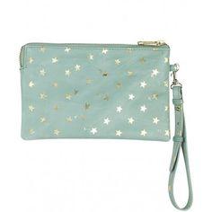 becksondergaard-mint-leather-emma-clutch-bag  #EthicalJewellery #EllaGeorgia #EthicalFashion