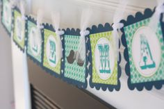Mustache Little Man or It's a Boy Baby Shower by DreamPartyPaperie, $27.00