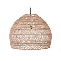 Open Weave Cane Rib Bell Pendant Lamp, Extra Large, Natural from Kouboo Rattan Pendant Light, Large Pendant Lighting, Pendant Lamp, Pendant Lights, Decorative Lighting, Ceiling Pendant, Bungalow, Shops, Open Weave