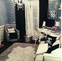 Chanel inspired office!