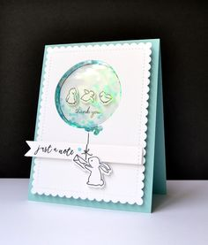 Kara Vrabel for WPlus9 featuring Doodle Buds, Happy Mail, Party Animal stamps and dies, Banner Trio Die, and Sunshine Layers Die