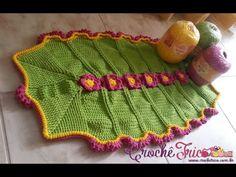 Crochê - Tapete Primavera com Maxcolor - YouTube