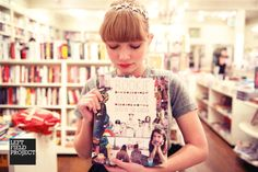 Tavi Gevinson, the founder and editor-in-chief of the online Rookie Magazine