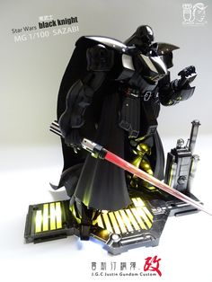 Star Wars Sith DARTH VADER MG 1/100 SAZABI by J.G.C Justin Gundom Custom | Gundam Century