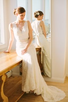 Bride in Watters Gown | photography by http://www.rebecca-arthurs.com