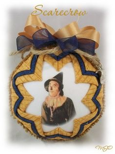 Wizard of Oz Scarecrow of the West by Miss Joys Ornament