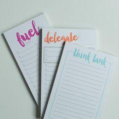Fuel Notepad - Start Planner