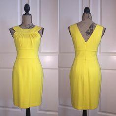 Trina Turk Dress Yellow Trina Turk Trina Turk Dresses Midi