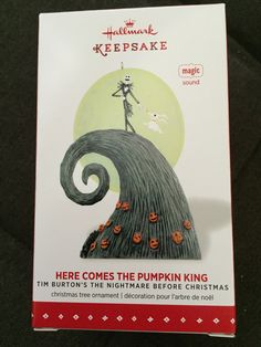 Here Comes the Pumpkin King (Disney's Nightmare Before Christmas) Holiday Ornament
