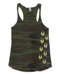 Ladies Deer Camo Tank Top by SKOutdoorsShop on Etsy