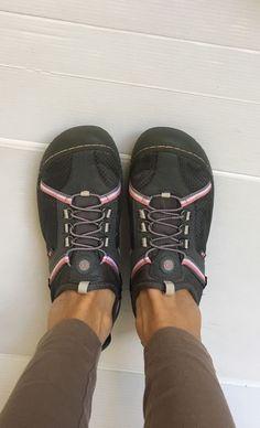 13f3c817837 J-41 Jambu Women size 9 TAHOE Vegan Jeep Hiking Grey Pink Slip On Shoes