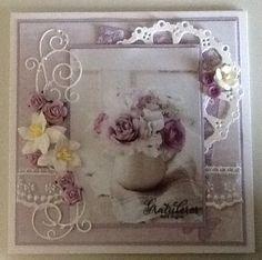Shabby Chic Cards, Frame, Handmade, Home Decor, Picture Frame, Hand Made, Frames, A Frame, Craft