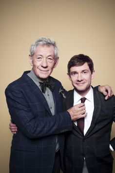 Sir Ian McKellen interviewed by Martin Short about all things Middle Earth. Click through, it's wonderful