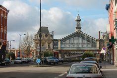 Gare de Roubaix fin janvier.
