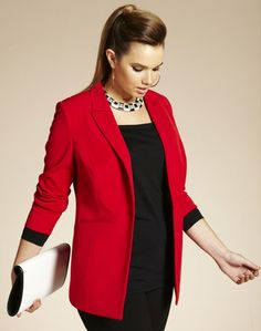 10 Most Wanted: Plus Size Blazers