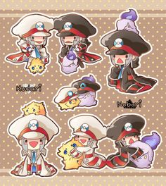 by ギャニ Black Pokemon, Cute Pokemon, Catch Em All, Masters, Disney Characters, Fictional Characters, Minnie Mouse, Nostalgia, Nerd