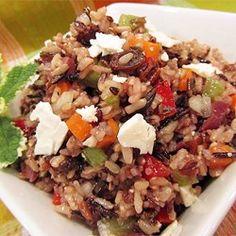 Mediterranean Brown Rice Salad - Allrecipes.com