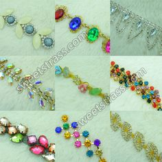 You can also decorate footwear, cloths and jewelries of different types with these stylish #Rhinestone chains.