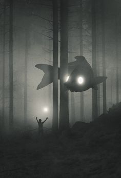 Explore Dawid Planeta's Mystical World of Bright-Eyed Animal Guides