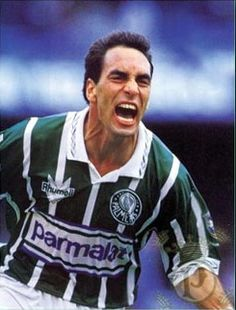 #Edmundo, um dos grandes ídolos da história do #Palmeiras