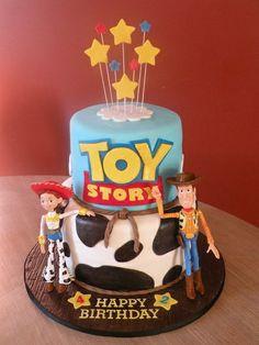 woody cowboy party  | Toy Story - Woody & Jessie cake
