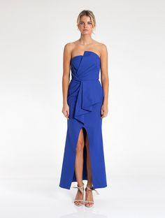 Tube Maxi Dresses, Peplum Dress, Strapless Dress Formal, Formal Dresses, Spandex, Bustier, Fit And Flare, Elegant, Closure