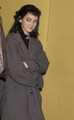 """Winona Ryder at the screening of """"Amazing Grace & Chuck"""", 1987"""