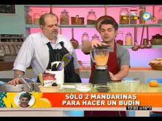 Budín de mandarina hecho en licuadora - 2 mandarinas 1 huevo 100cc de aceite 1 taza de azúcar (200 gr) 1 taza y 1/2 de harina leudante (250 a 300 gr) 50' a horno 160°
