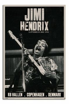 Jimi Hendrix Copenhagen Concert Poster Magnetic Notice Board Black Framed x 66 cms Approx 38 x 26 inches * Check this awesome product by going to the link at the image. (This is an affiliate link) Affiche Jimi Hendrix, Jimi Hendrix Live, Jimi Hendrix Experience, Rock 7, Pop Rock, Rock N Roll, Rock Posters, Music Posters, History Posters