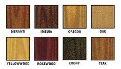 Colour Chart #woodoc #wood #diy #woodwork #colour #stains #paint ...