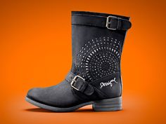 Desigual MALVA boots. Now at Angel Vancouver in Canada (angelvancouver.com)