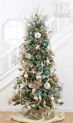 ☀️⛱ Coastal Christmas Tree