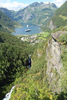 4 Freizeiten Aida Nordeuropa3 Norwegen Geiranger Geirangerfjord