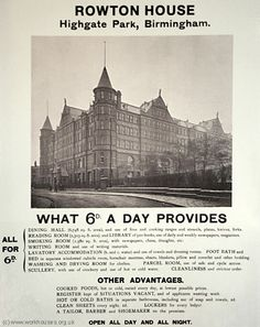 A Comprehensive History of the Workhouse by Peter Higginbotham Birmingham City Centre, Birmingham England, Sweeney Todd, West Midlands, Working Class, Yesterday And Today, Reading Room, Britain, Taj Mahal