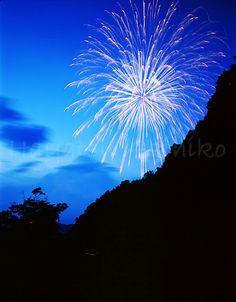 JAPAN Saitama Nagatoro Funadama Festival  [埼玉/長瀞船玉まつり花火大会] 早津明彦フォトアートオフィス様