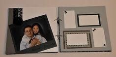Scrapbook e Papelaria Personalizada: Álbum de Assinatura - Casamento