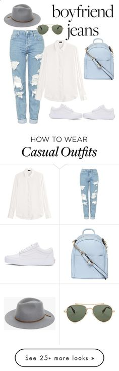 Boyfriend Jeans | keep it casual by e-golightly on Polyvore featuring Topshop, Vans, Joseph, Dorothy Perkins, Givenchy and 7 For All Mankind