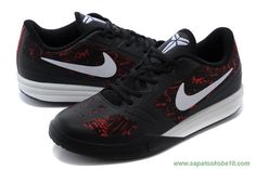 704942-600 Nike Kobe KB Mentality Preto / Branco / Vermelho site de compra de tenis