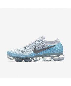 400d2f0c0b74f Nike Wmns Air Vapormax Flyknit Pure Platinumglacier Blue Shoes