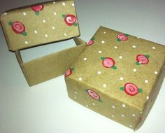 Hand-Painted Gift Boxes (2 ct) - Ring-Sized- FREE SHIPPING on Etsy, $3.00
