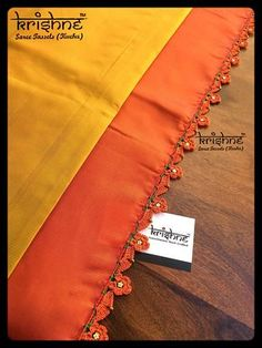 Crochet Tassel Kuchu from Krishne Tassels Saree Tassels Designs, Saree Kuchu Designs, Fancy Blouse Designs, Creative Embroidery, Hand Embroidery Designs, Embroidery On Clothes, Trendy Sarees, Fashion Vocabulary, Diy Tassel