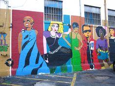 #TimeToSee Awesome street art! Seen in the Little Five neighborhood of Atlanta, GA