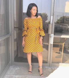 Super-Stylish Ankara Fashion to Style-Steal From - Wedding Digest Naija African Fashion Ankara, African Print Fashion, African Wear, African Prints, African Style, Clothing Patterns, Dress Patterns, Chitenge Outfits, African Dresses For Women