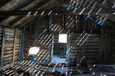 Inside the abandoned cabin near Keno City, Yukon Territory, Canada (www.stratageodata.com)