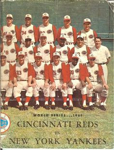 1961 World Series | 1961 World Series Program – Cincinnati Version