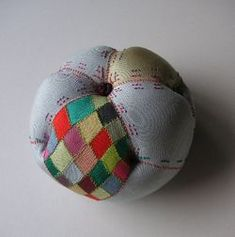pin-cushion, korean traditional cloth