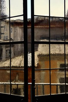 Roma - photo by Gaetano Pezzella Through The Window, Through The Looking Glass, Arcade, Loft Interiors, Window Dressings, Window View, Street Signs, Colorful Pictures, Fine Art Photography