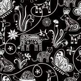 Animals black/white